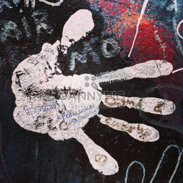 Graffity on Berlin wall - Free image #183159
