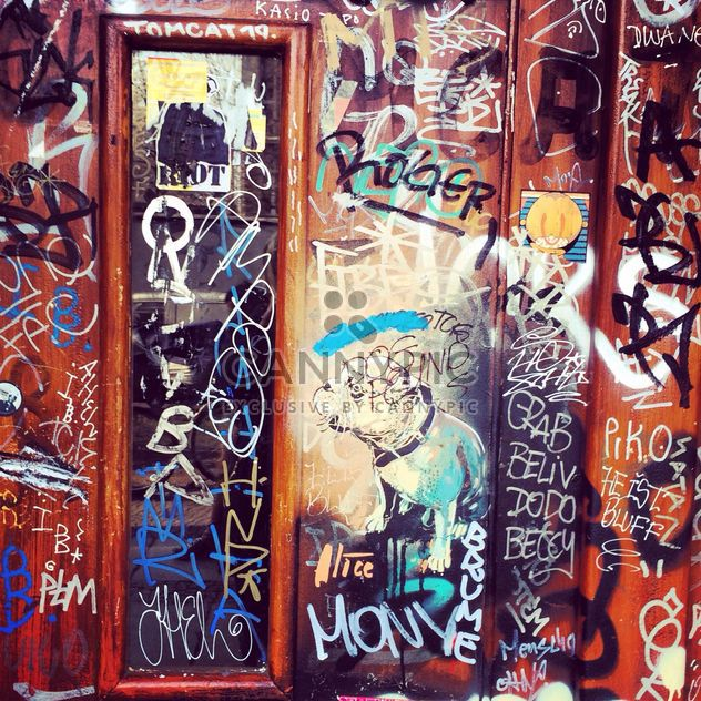Graffity on the walls - Free image #183169