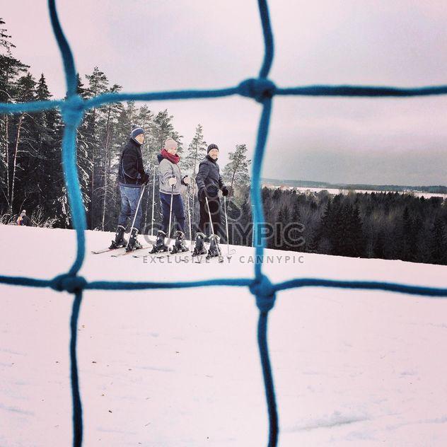 Winter skiing - Free image #183379