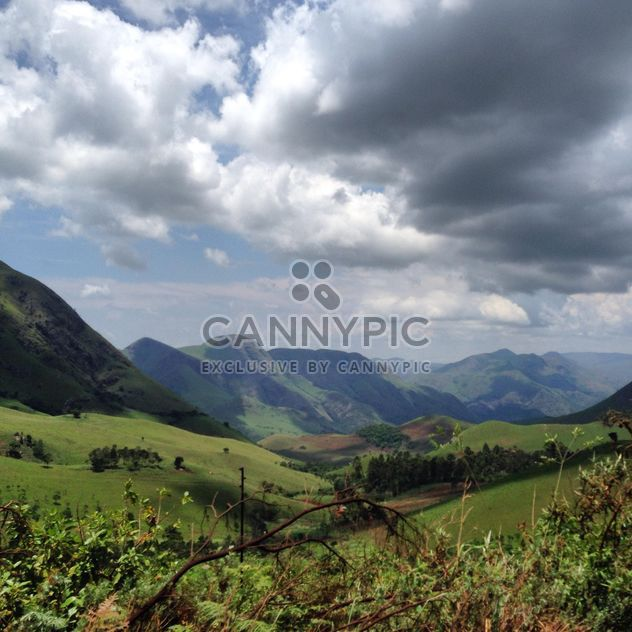 Green mountain ranges - Free image #183569
