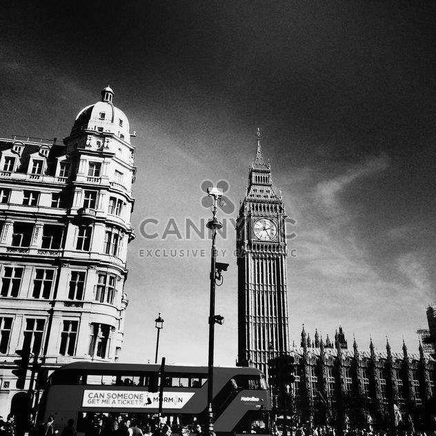Big Ben in London, England - Kostenloses image #183649