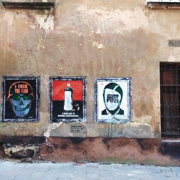 Street art in Lviv - Free image #183679