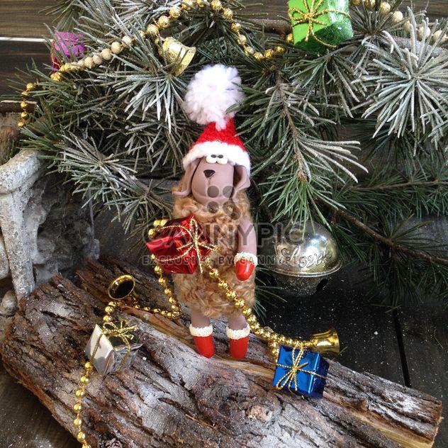 Árvore de Natal e ovelhas de brinquedo - Free image #183809