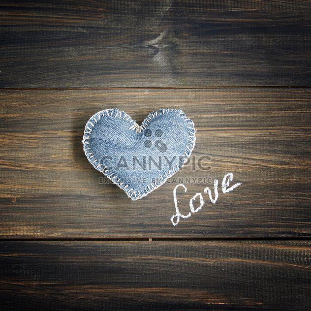 Джинсовой ткани сердца - бесплатный image #183889
