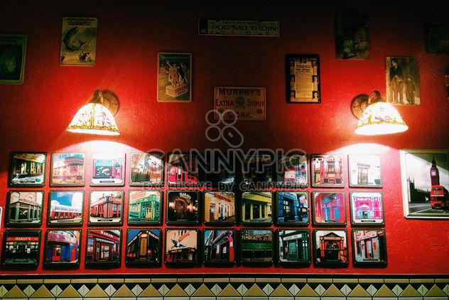Bright interior of Irish pub - Free image #183999