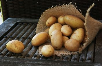 Raw potato - image #184089 gratis