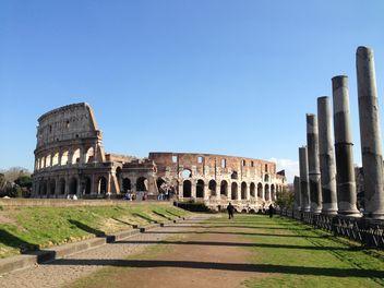 Collizeum, Roma, Italy - Kostenloses image #184119