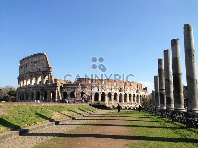 Collizeum, Roma, Italien - Kostenloses image #184119