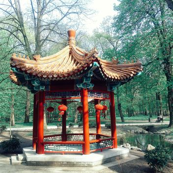 Chinese arbor - Kostenloses image #184609