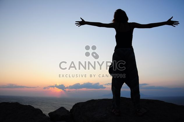 silhouettes of woman - Free image #185779