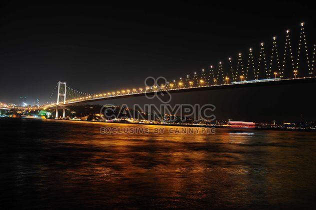 Bosphorus bridge in istanbul - Free image #185799