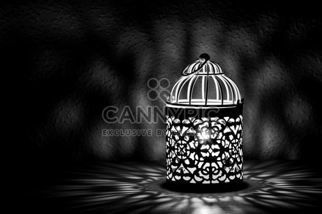 Lantern with candle inside - Free image #186179