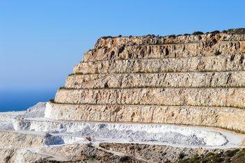 Quarry near Mochlos, Crete island - image #186269 gratis
