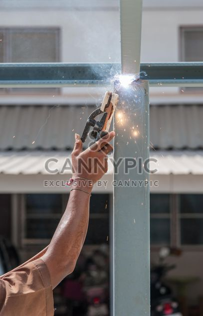 Steel construction worker - Free image #186409