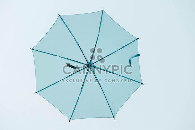 Blue umbrella hanging - Free image #186539