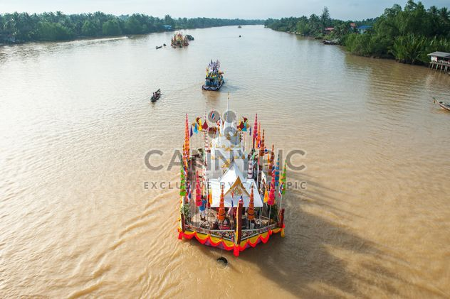 #tradition, #Drag, #towed, #chakpra, #waterway, #suratthani, #south - Free image #186599