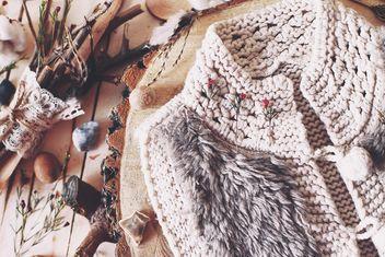 Warm woolen vest - image #186629 gratis