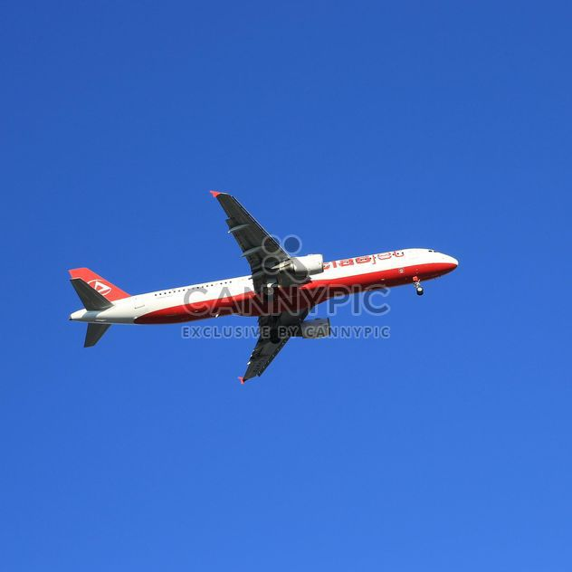 Airplane on background of sky - Free image #186649