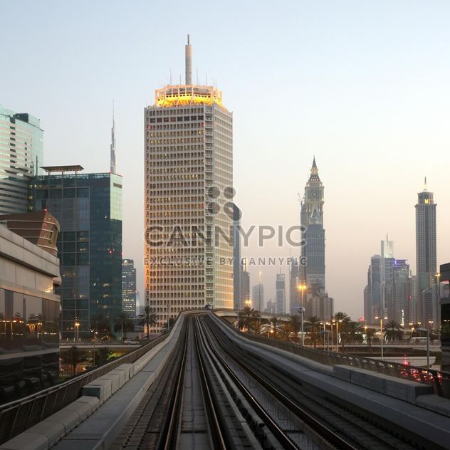 View on architecture in Dubai - Free image #186679