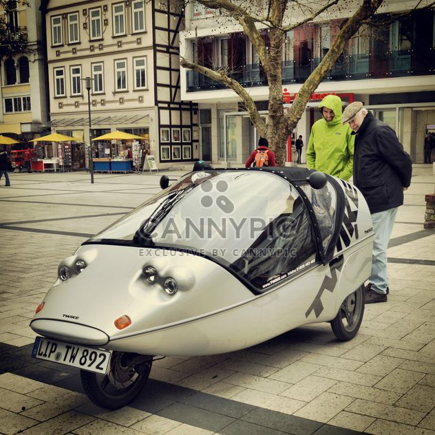 Unusual car in street - Free image #186699