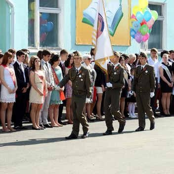 Last Bell event at school - бесплатный image #186779