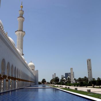 Sheikh Zayed Mosque, Abu Dhabi - Free image #186789