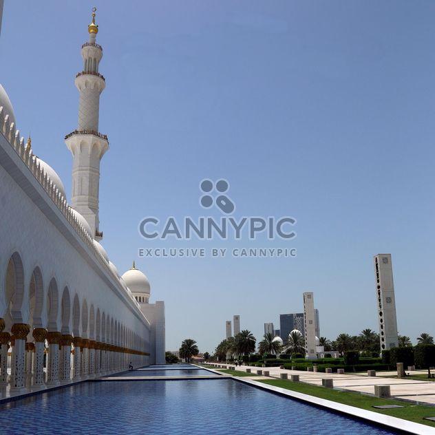 Sheikh-Zayed-Moschee, Abu Dhabi - Free image #186789