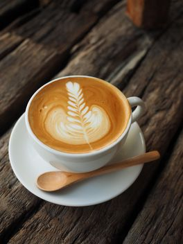 Coffee latte art - Free image #186919