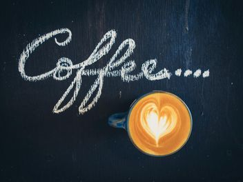 Coffee latte art - image #187039 gratis