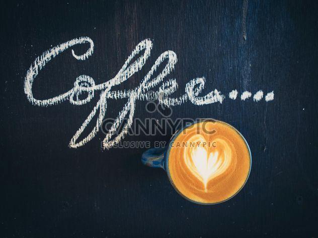 Café latte art - image gratuit #187039