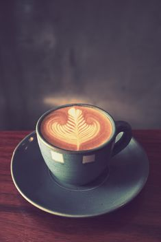 Coffee latte art - image #187059 gratis