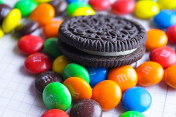 Oreo and M&M's - Free image #187159