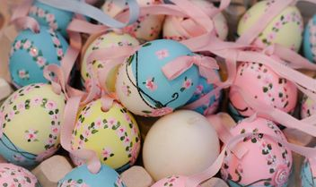 Painted Easter eggs - image gratuit #187519