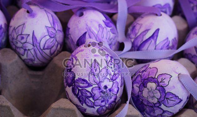 Huevos de Pascua pintados - image #187539 gratis