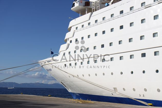 Cruise ship at Rhodes Port, Greece - Free image #187789
