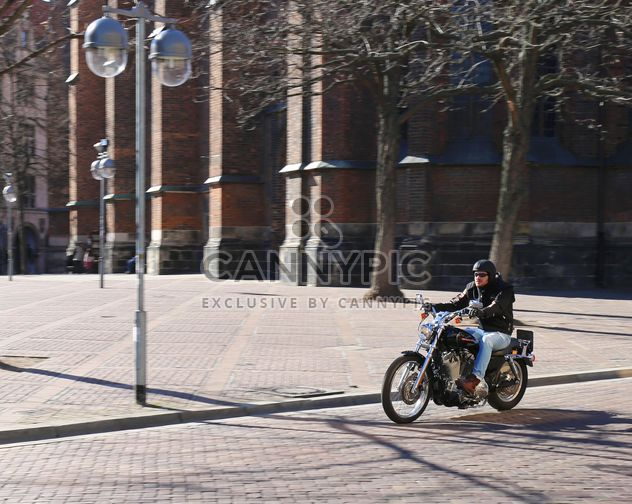 Enjoying Motorcycle ride in Hannover - Free image #187889