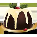 pudín de Navidad - icon #188779 gratis