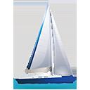 Sail Boat - Free icon #188829