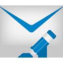 modificar correo - icon #189069 gratis
