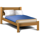Single Bed - icon gratuit #189249