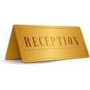 Reception Sign - Kostenloses icon #189269