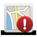 Karte-Warnung - Free icon #189779
