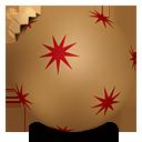 Christmas Ball Gold - Kostenloses icon #190239