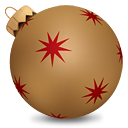 Or de boule de Noël - Free icon #190239