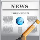 News Edit - Free icon #190399