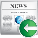 News Previous - Free icon #190409