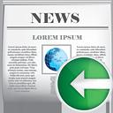 Noticias anteriores - icon #190409 gratis