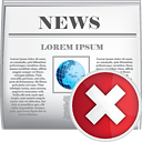 News Delete - icon #190429 gratis