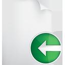 Seite zurück - Kostenloses icon #190489