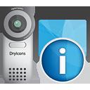 caméra vidéo info - Free icon #190539